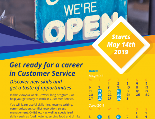 Customer Service Training Program – May 2019