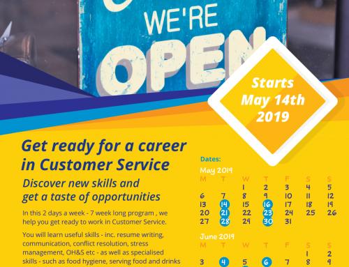 Customer Service Training Program – May 2019