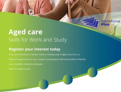 Aged Care Skills for Work and Study