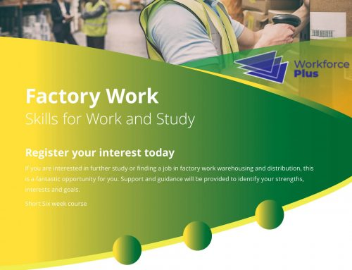 Factory Work Skills for Work and Study